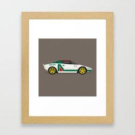 Alitalia Stratos Framed Art Print