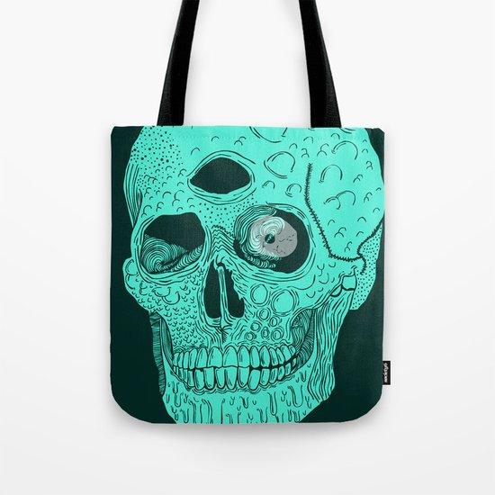 Beetle Skull  Tote Bag