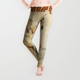 Vintage poster - The High Rollers Extravaganza Leggings