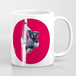 Indri indri sitting in the tree Coffee Mug