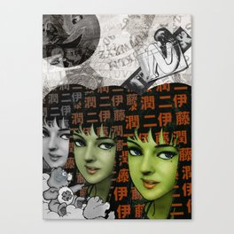 Tomie Canvas Print