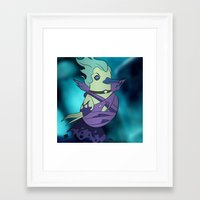 dota Framed Art Prints featuring DotA 2: Death Prophet (ghostly background) by Birbles