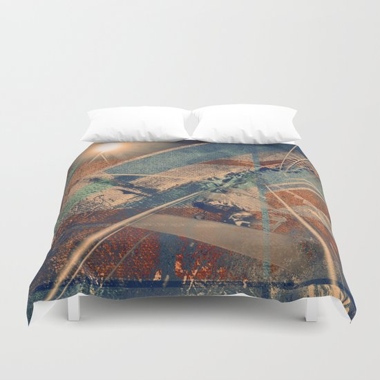 Launching Base Duvet Cover
