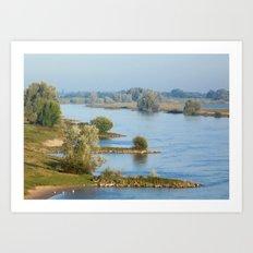 River IJssel Art Print