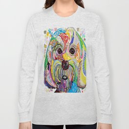 Maltese Puppy Long Sleeve T-shirt