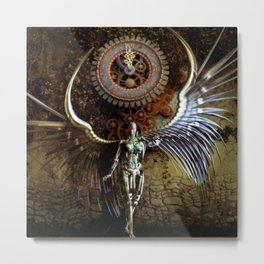 The Last Shadow Of Time Metal Print
