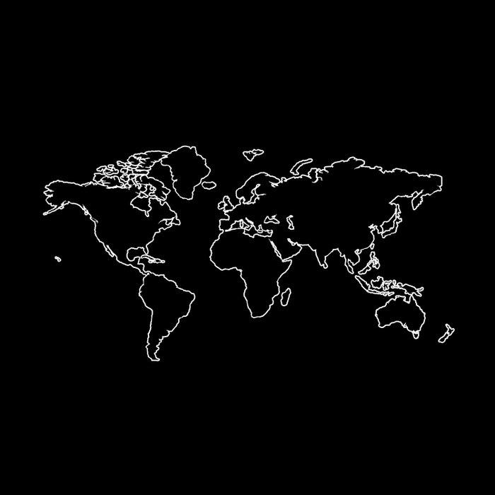 World Map Comforters