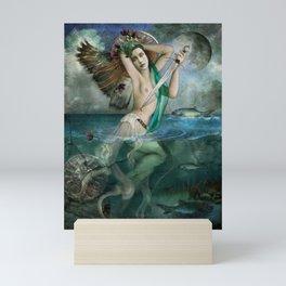 Santa Marina Siren Mini Art Print