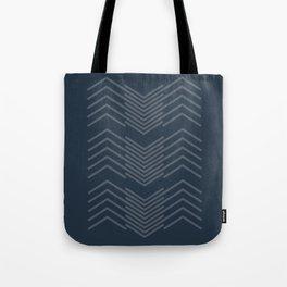 Blue Zags Tote Bag