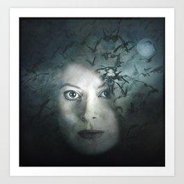 The Night Caller Art Print