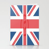 england Stationery Cards featuring  England by XKbeth