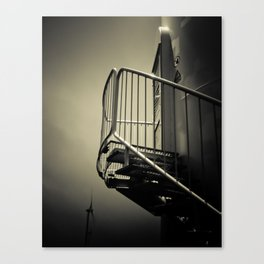 Wind power Canvas Print