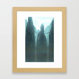 Monastery Framed Art Print