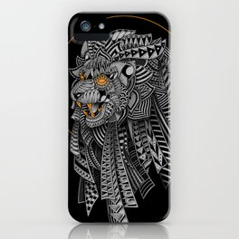 Barbarian Lion iPhone Case