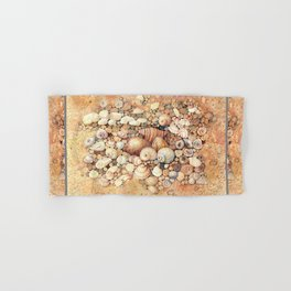 Shells on Sand Hand & Bath Towel