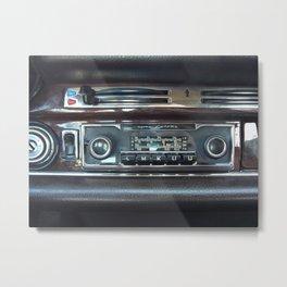Vintage Radio Becker Europa Metal Print