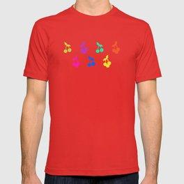 Rainbow cherries T-shirt