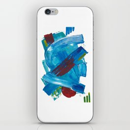 Energy channels iPhone Skin
