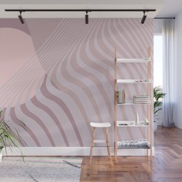 Beyond The Fog - Misty Taupe Wall Mural