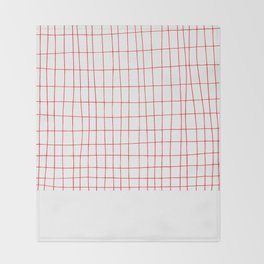Maths Grid Throw Blanket