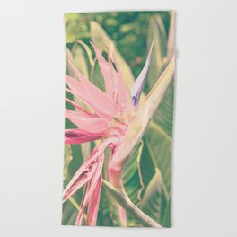 Bird of Paradise ll Beach Towel