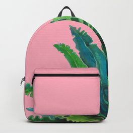 Nature on Pink Backpack