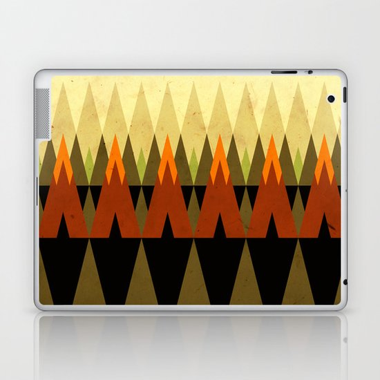 living in the woods Laptop & iPad Skin