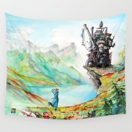 """Into my dreams"" Wall Tapestry"