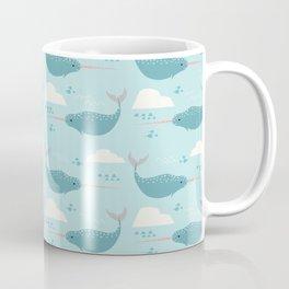Narwhal blue Coffee Mug