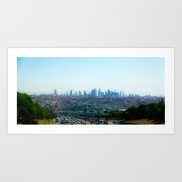 Leica City Art Print