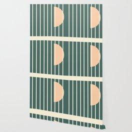 Moon between bars Wallpaper