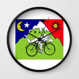 Lsd Bicycle Wall Clock