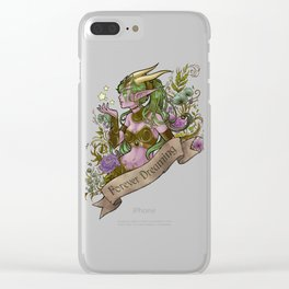 Forever Dreaming Clear iPhone Case