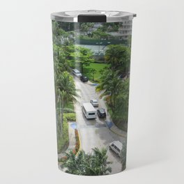 Caribe Hilton grounds, San Juan, Puerto Rico, before Maria Travel Mug