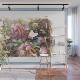 Petals In The Wind Wall Mural
