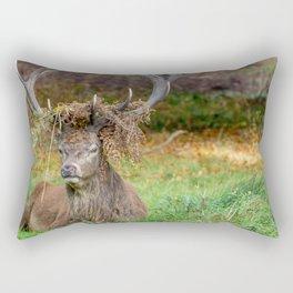 Crowned. Rectangular Pillow