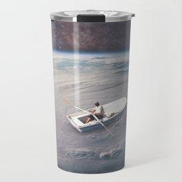 Rowing the Cosmos Travel Mug