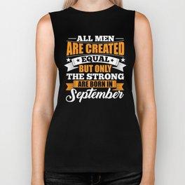 All Men Are Created Equal September Biker Tank