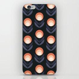 Mod Rose Pattern iPhone Skin
