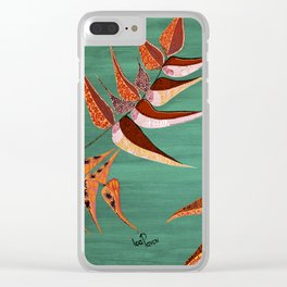 """""""Fiddleheads and Fronds"""" by ICA PAVON Clear iPhone Case"""