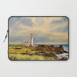 Turnberry Golf Course Scotland 9th Tee Laptop Sleeve