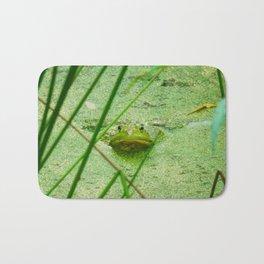 frog friend Bath Mat