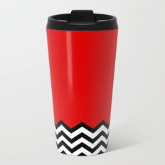 Black Lodge Dreams (Twin Peaks) Metal Travel Mug