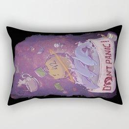 DONT'T PANIC! Rectangular Pillow
