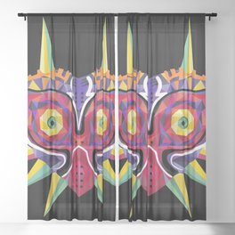 Majora's Incarnation Sheer Curtain