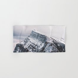 Mt. Rundle Piercing the Clouds Hand & Bath Towel