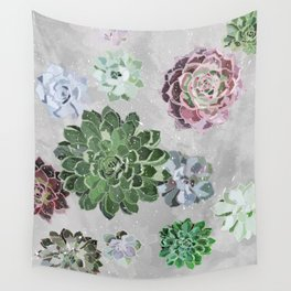 Simple succulents Wall Tapestry