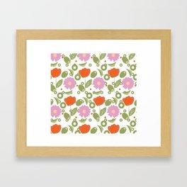 For the Love of Olives Framed Art Print