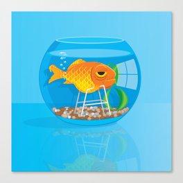 Old Fish Canvas Print