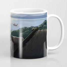 Norse Village Coffee Mug